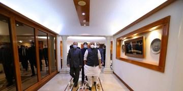 دیدار وزیر دفاع هند با سرتیپ حاتمی