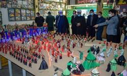 افتتاح نمایشگاه «غدیر تا شام» با استفاده از 800 عروسک مینیاتوری در کرمانشاه