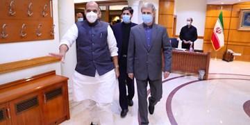 وزیر دفاع هند: دیدارم با سرتیپ امیر حاتمی، پربار  و مفید بود