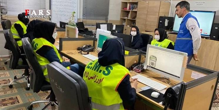 امدادرسانی اورژانس گلستان به حادثهدیدگان زلزله بامداد امروز در رامیان