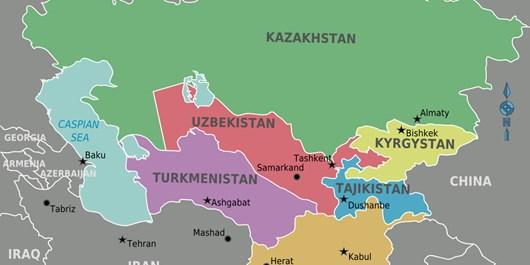آسیای مرکزی در 24 ساعته