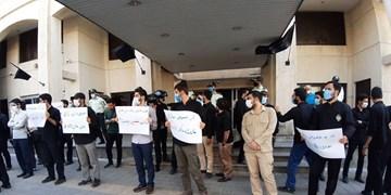 تجمع دانشجویان در اعتراض به خصوصیسازیهای رانتی/ درخواست برای خلع ید مدیرعامل نیشکر هفتتپه