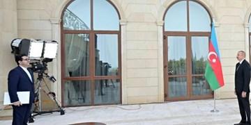 عباس موسوی سفیر جدید ایران استوارنامه خود را تقدیم علی اف کرد