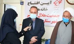 افتتاح خانههای هلال در شهرستان ایجرود
