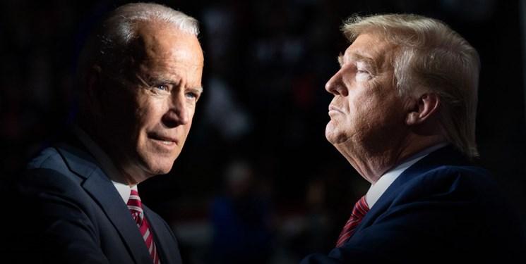 نظرسنجی   بایدن با اختلاف 6 درصد از ترامپ پیشی گرفت