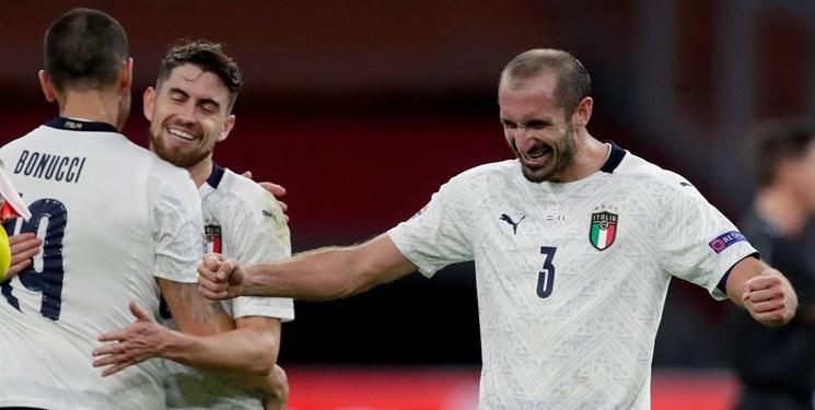 تیم ملی فوتبال ایتالیا واکسن کرونا زد