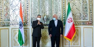 دیدار وزرای خارجه ایران و هند