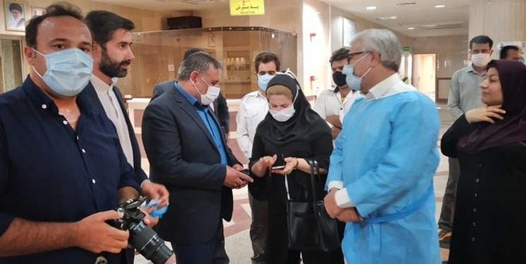 فرمانده اسبق سپاه فتح کهگیلویه و بویراحمد از بیمارستان مرخص شد+عکس
