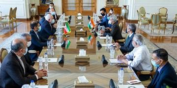 ظریف پس از دیدار با همتای هندی: تعامل فعال با همسایگان، اصلیترین اولویت ماست