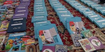 توزیع 900 بسته معیشتی و نوشتافزار  توسط اهالی و خیران 9 روستای  مراغه