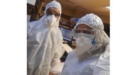 ماه عسل  زوج مدافع سلامت در گروه کد99