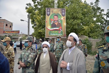 سرگرد شهید مسلم سهیلیفرد از کادر درمان بهداری ارتش جمهوری اسلامی در تهران و اصالتا از اهالی روستای «سید میران» گرگان بود