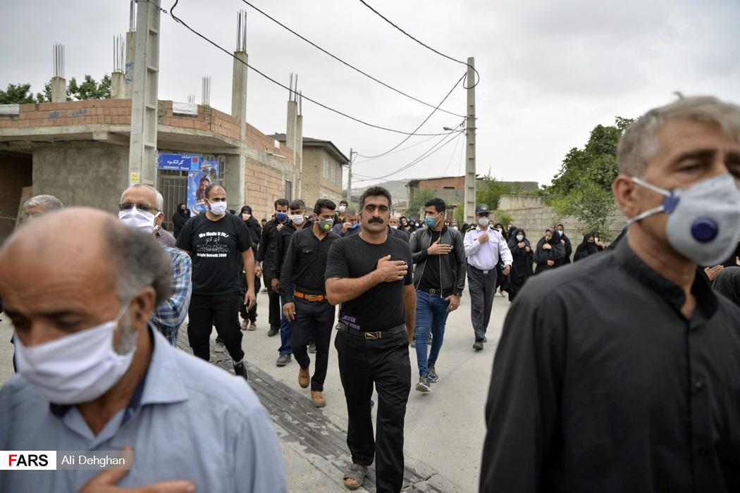 وی چهارمین شهید مدافع سلامت استان گلستان می باشد