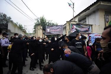 منزل پدری شهید مسلم سهیلی فرد در روستای سید میران گرگان