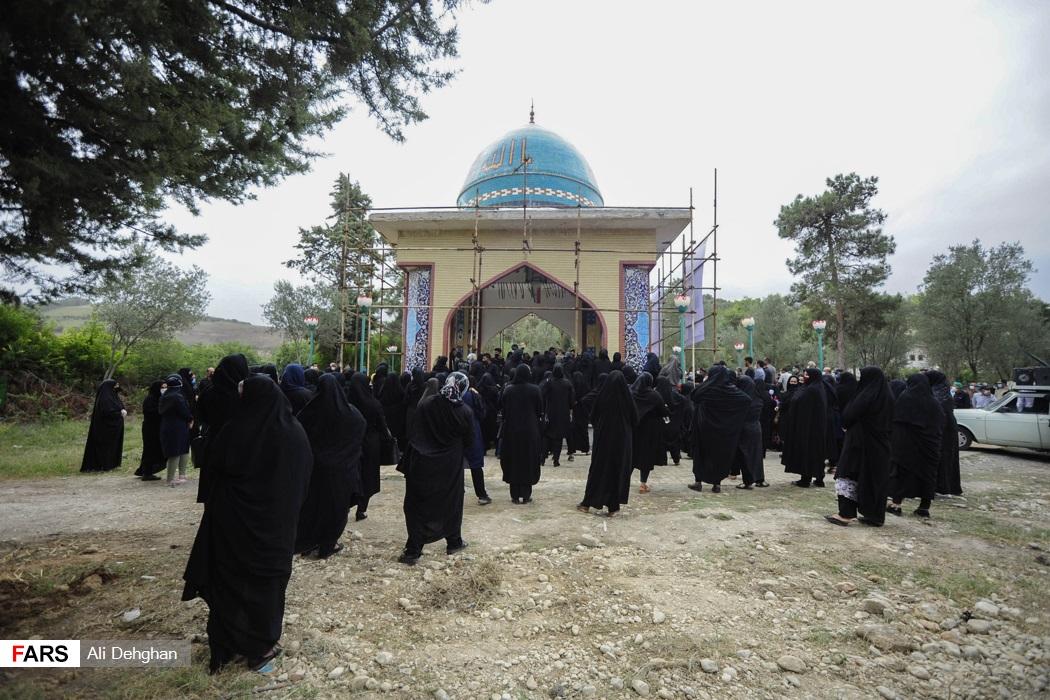 گلزار شهدای روستای سید میران مدفن 10 شهید می باشد
