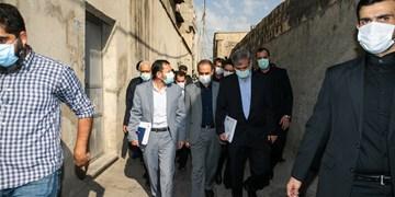 بازدید دادستان و رئیس پلیس از محله شوش