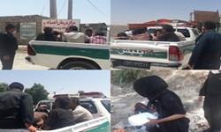 دستگیری معتادان متجاهر در طرح ارتقای امنیت اجتماعی گچساران