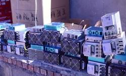 کشف کالای قاچاق از 3 انبار در ابهر