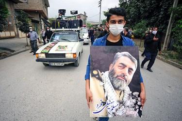 تصویری از شهید مسلم سهیلی فرد
