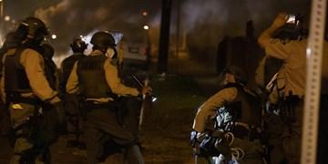 برپایی اعتراضات در لسآنجلس آمریکا برای چهارمین شب متوالی
