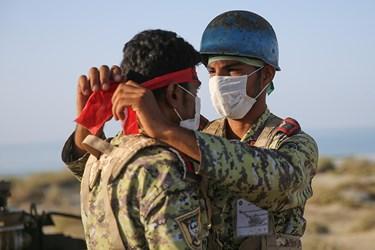 آمادگی تکاوران نیروی دریایی ارتش برای آغاز رزمایش ذوالفقار ۹۹