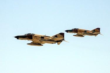 پرواز جنگده های نیروی هوای ارتش در رزمایش ذوالفقار ۹۹