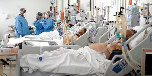افزایش ۵ برابر شدن بستری بیماران کرونایی