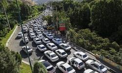 ترافیک سنگین در محورهای فیروزکوه و کندوان /جاده چالوس از ساعت 15 امروز یک طرفه می شود