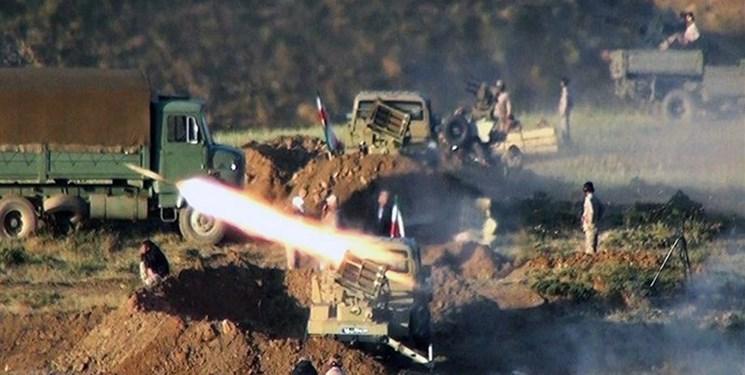 عملیات بزرگ نیروی زمینی سپاه در شمالغرب/ انهدام مقر تروریستها در جدار و آن سوی مرز