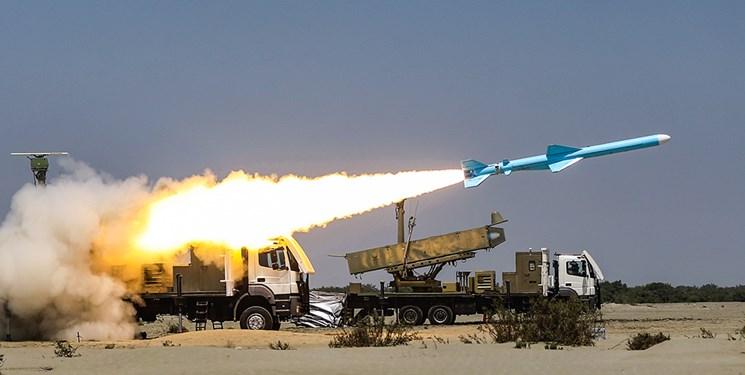شلیک موشک قادر در رزمایش ذوالفقار ارتش/ انهدام هدف در فاصله ۲۰۰ کیلومتری