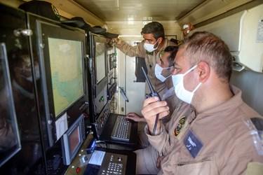 مرکز کنترل و شلیک موشک قادر در رزمایش ذوالفقار ۹۹