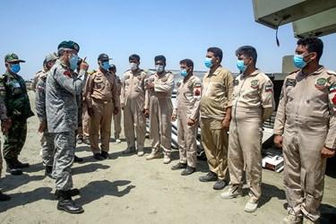 توضیحات دریادار حبیبالله سیاری معاون هماهنگ کننده ارتش به نیروها