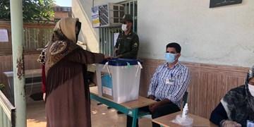 نرخ بالای مشارکت مردم در انتخابات غرب گلستان