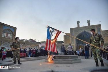 تجمع اعتراض آمیز مردم زنجان در محکومیت اهانت به قرآن و پیامبر