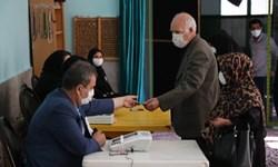 مشارکت باشکوه بیجاریها با رعایت پروتکلهای بهداشتی در انتخابات دور دوم مجلس