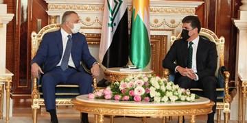 نخستوزیر عراق با رئیس منطقه کردستان دیدار کرد