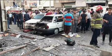 حادثه در مغازه باطریسازی در نسیم شهر/ یک کشته و ۱۰ مصدوم؛ ۵۰ ساختمان و خودرو خسارت دیدند