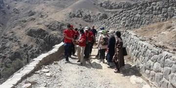 نجات بانوی ۵۰ ساله در ارتفاعات شمیرانات