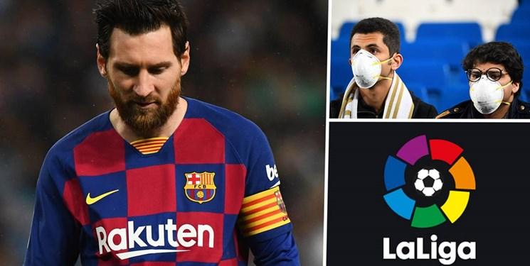 تاثیر کرونا بر اقتصاد فوتبال ؛ بودجه اصلی باشگاه های لالیگا چه تغییری کرده است؟ +عکس