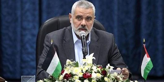 هنیه: حال و آینده امت اسلامی با آرمان فلسطین گره خورده است