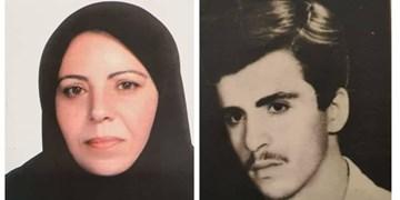 مادر شهید «محمد خدابخش» به فرزند شهیدش پیوست