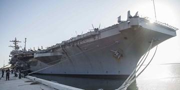 ناو هواپیمابر «یو اس اس نیمیتس» آمریکا پس از 7 ماه وارد عمان شد