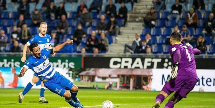 لیگ فوتبال هلند| نیمکت نشینی قوچان نژاد در دیدار زووله مقابل فاینورد