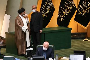 گفت و گوی سیدکاظم موسوی و علی نیکزاد نمایندگان مردم اردبیل در مجلس شورای اسلامی