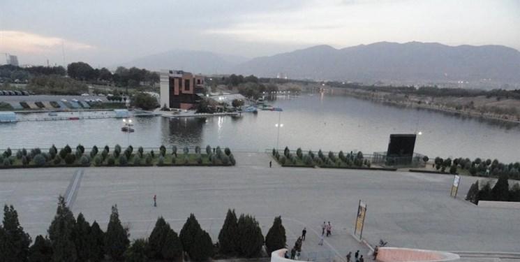 دریاچه آزادی پاکسازی شد/ ایلخان خداحافظی کرد+ تصاویر