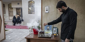 روضه خانگی در منزل شهید «سیدحیدر سیادت»
