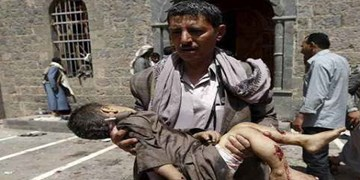 آماری از جنایات سعودی؛ 2000 روز جنگ علیه یمن؛ 43 هزار شهید و مجروح