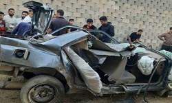 سقوط خودرو از روی پل شیبان دو کشته و سه مصدوم برجای گذاشت