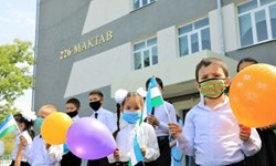 بازگشایی 2635 مدرسه در سراسر ازبکستان