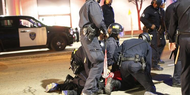 فیلم| مرگ یک نفر در تجمع حامیان و مخالفان پلیس آمریکا